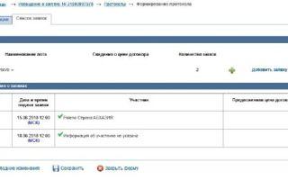 Протокол подведения итогов электронного аукциона по 44-фз: образец документа и сроки размещения в еис