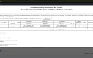 Расчет нмцк по 44-фз: онлайн-калькулятор, методы и формула определения начальной максимальной цены контракта