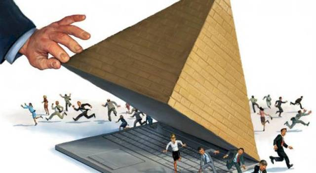 Финансовая пирамида: виды и принципы работы; по каким признакам её обнаружить и куда обращаться потерпевшему?