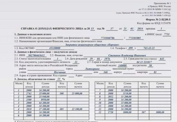 Код дохода отпускных в справке 2-НДФЛ: особенности внесения данных по выплатам
