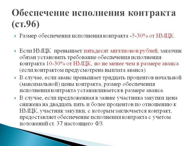 Обеспечение заявки и исполнения договора по 223-ФЗ: размер и сроки внесения, порядок возврата