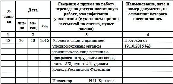 Перевод директора на должность генерального директора: образец приказа, совместительство, запись в трудовой книжке