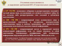 Разглашение персональных данных третьим лицам без согласия субъекта: понятие и ответственность за нарушение закона по статье 137 УК РФ