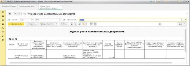 Бухгалтерский учет удержаний из заработной платы работников: очередность списаний и их оформление