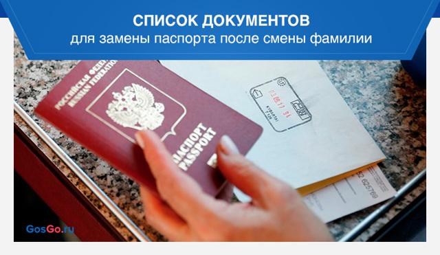 Документы при смене фамилии после замужества: образцы заявления и приказа, необходимого для паспорта через Госуслуги и МФЦ. Как проойти процедуру через несколько лет?